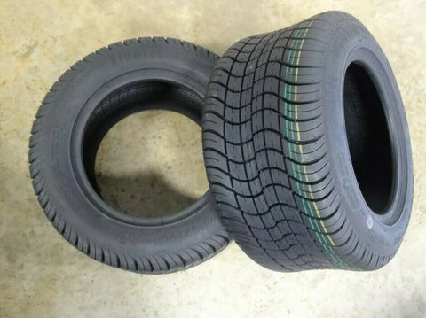 205/50-10 Air Loc  Brand  6 Ply Rated Tubeless Golf Cart Tires (SET OF 2)