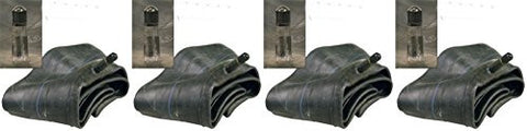 15x6.00-6 (2 FRONT) AND 18/20x8.50/9.50/10-8 (2 REAR) Air Loc Tire Inner Tubes with TR13 Rubber Valve Stem (SET OF 4)