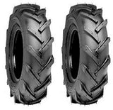 4.80/4.00-8 Major Brand 4 ply Rated Load Range B Tubeless R-1 Lug Tires  (SET OF 2)