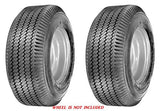 4.10/3.50-5  Major Brand  4 Ply Rated Tubeless Sawtooth Tread Rib Tires (SET OF 2)