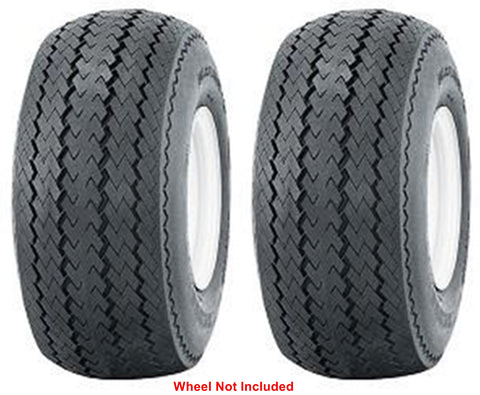 18X8.50-8  Air Loc P305 4 ply rated Sawtooth Tubeless Rib Tires (Set of 2)