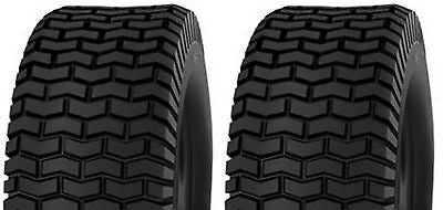 18X6.50-8 Major Brand  4 Ply Rated Tubeless Lawn Mower Turf Mower Tires (SET OF 2)