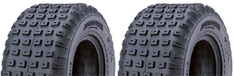 145/70-6 Innova  Knobby  Gear Tubeless  ATV Tires -  (SET OF 2)