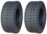 20x10.00-10 Deestone D265 4Ply Rated Heavy Duty Lawn Mower Turf Tires (SET OF 2)