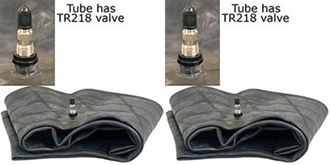 8-22  8.3-22 9-22  9.5-22 Farm Tractor/Implement Inner Tube with TR218A Valve Stem (SET OF 2)