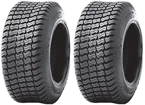 24x12.00-12 Air Loc 6Ply Rated Heavy Duty Lawn Mower Turf Tires (SET OF 2)
