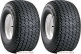 22x9.50-10 22x950-10 22x9.50-10 Carlisle Turf Trac R/S Mower Garden Tractor Turf Tires  (SET OF 2)
