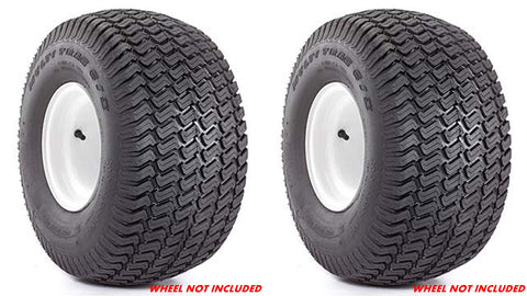 18x10.50-10  Carlisle Multi Trac CS  4 Ply Rated Tubeless Lawn Mower Tractor Turf Tires (SET OF 2)