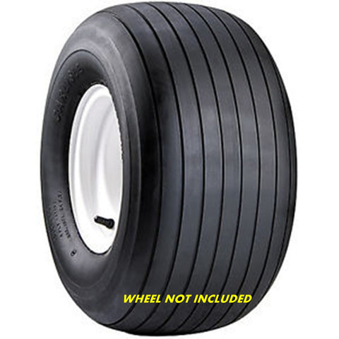 15x6.00-6 Carlisle Straight Rib 4 Ply Rated Tubeless Lawn & Garden Tubeless Tire