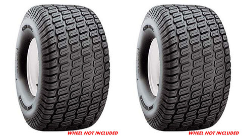 18x8.50-8 Carlisle Turf Master 4 Ply Rated  Tubeless Turf Tire Garden Tractor Lawn Mower  (SET OF 2)