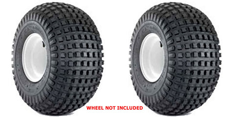 25x12-9 Deestone Knobby Tubeless  ATV Tires  25x12.00-9 25/12-9 ( SET OF 2)