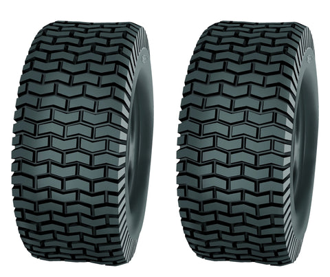 11X4.00-5 Major Brand 4 Ply Rated Tubeless Tractor Lawn Mower Turf Tires (SET OF 2)