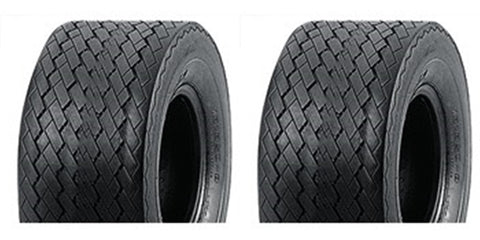 18x8.50-8 Major Brand  4 Ply Rated Tubeless Golf Cart Tires (SET OF 2)