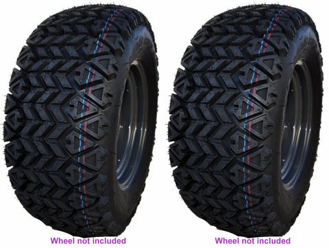 25x10-12 OTR 350 Mag ATV Tires Heavy Duty 6ply Rated  (SET OF 2)