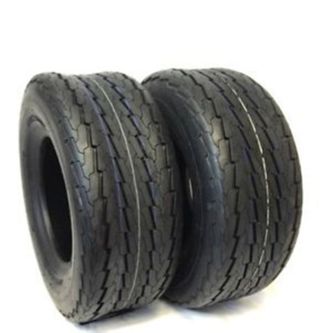 22.5X8.0-12 22.5x8.00-12 TOWMASTER Trailer Tires Heavy Duty 12 Ply Rated (SET OF 2)