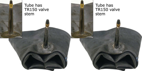 7.00R16  7.00-16 7.50R16  7.50-16 Major Brand Truck Tire Inner Tubes  TR150 Long Bendable Rubber Valve Radial/Bias (SET OF 2)
