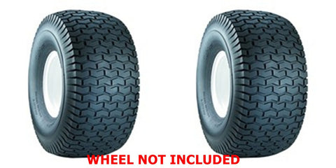 13X5.00-6 Carlisle Turf Saver 4 Ply Rated  Tubeless Turf Tires Garden Tractor Lawn Mower  (SET OF 2)
