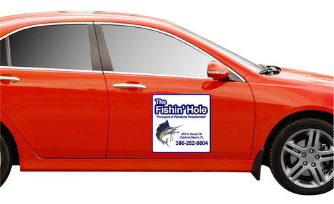Car magnet example