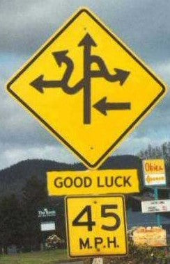 Good Luck Funny Sign of the Week