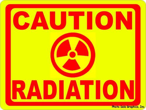 Caution Radiation Sign. - Signs & Decals by SalaGraphics