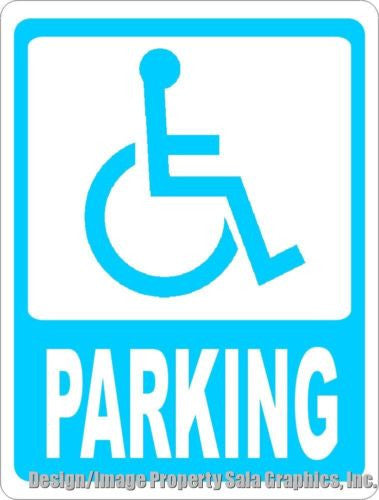 Handicapped Parking Sign - Signs & Decals by SalaGraphics