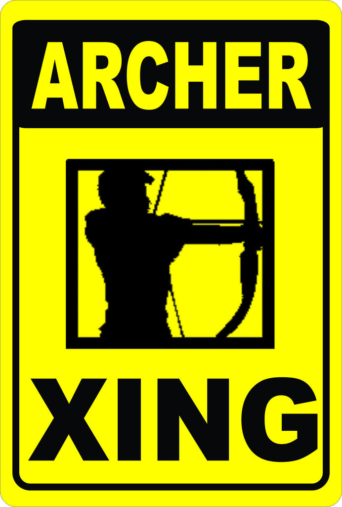 Archer Crossing Sign