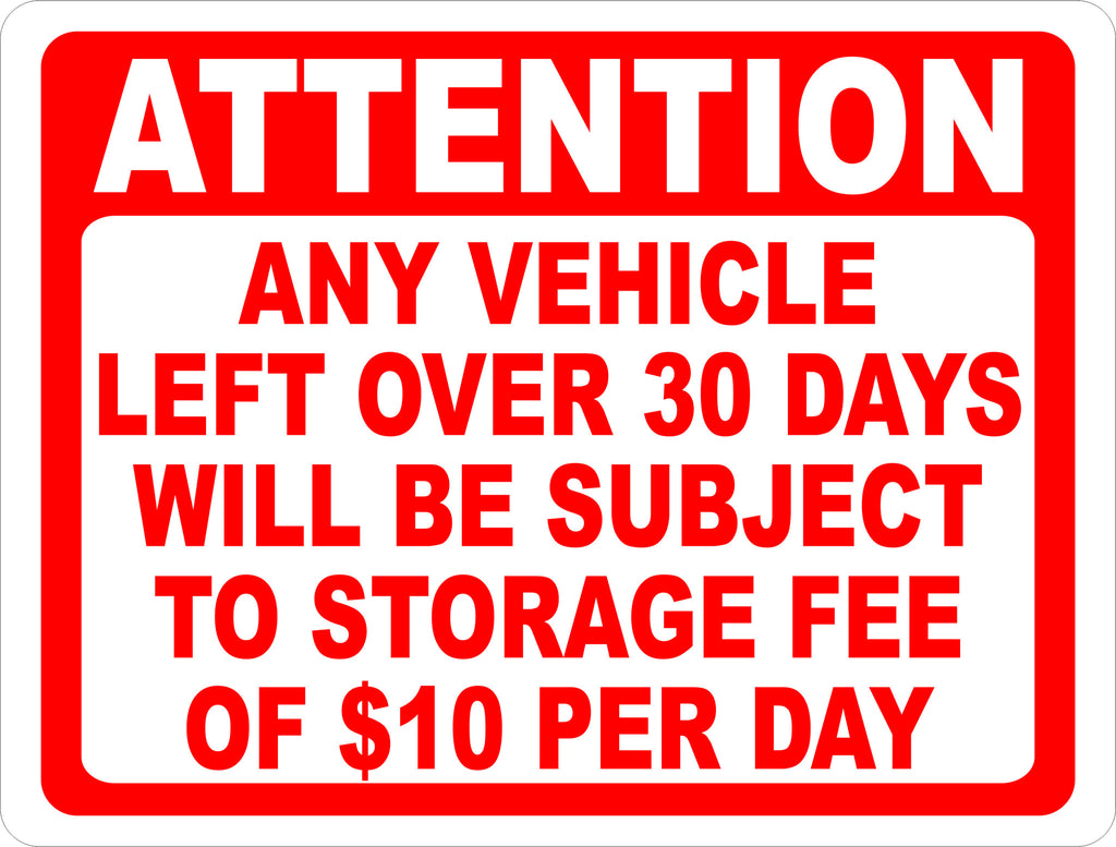 Auto Body Shops >> Attention Any Vehicle Left Over 30 Days Subject to Storage ...