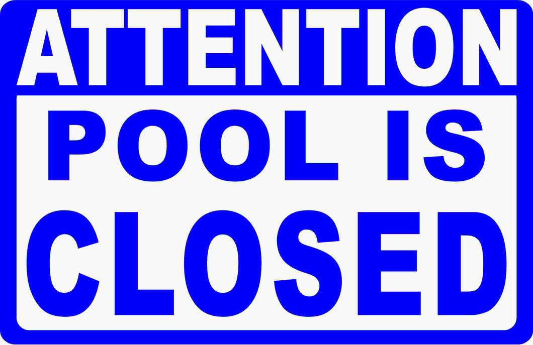 Pool Sign