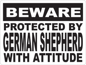 German Shepherd Sign Clearance