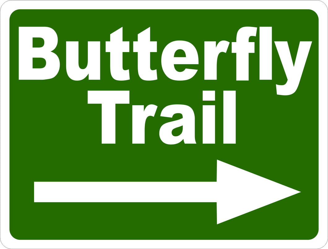 Butterfly Trail Sign