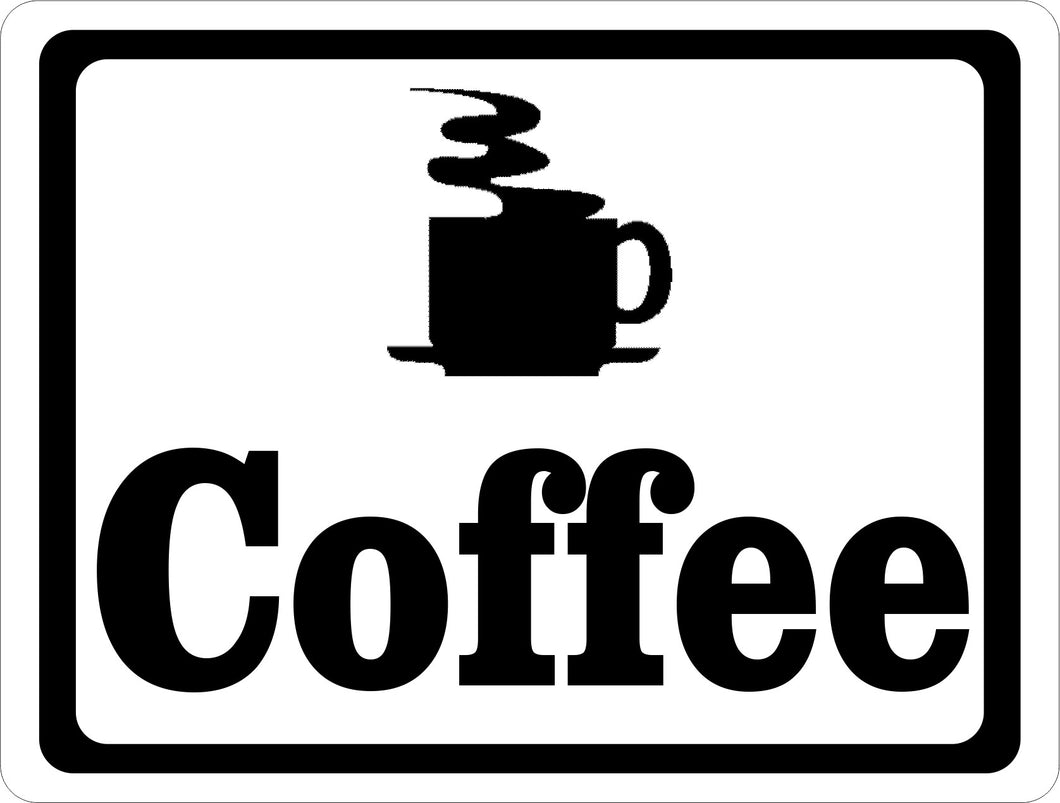 Coffee Sign - Signs & Decals by SalaGraphics