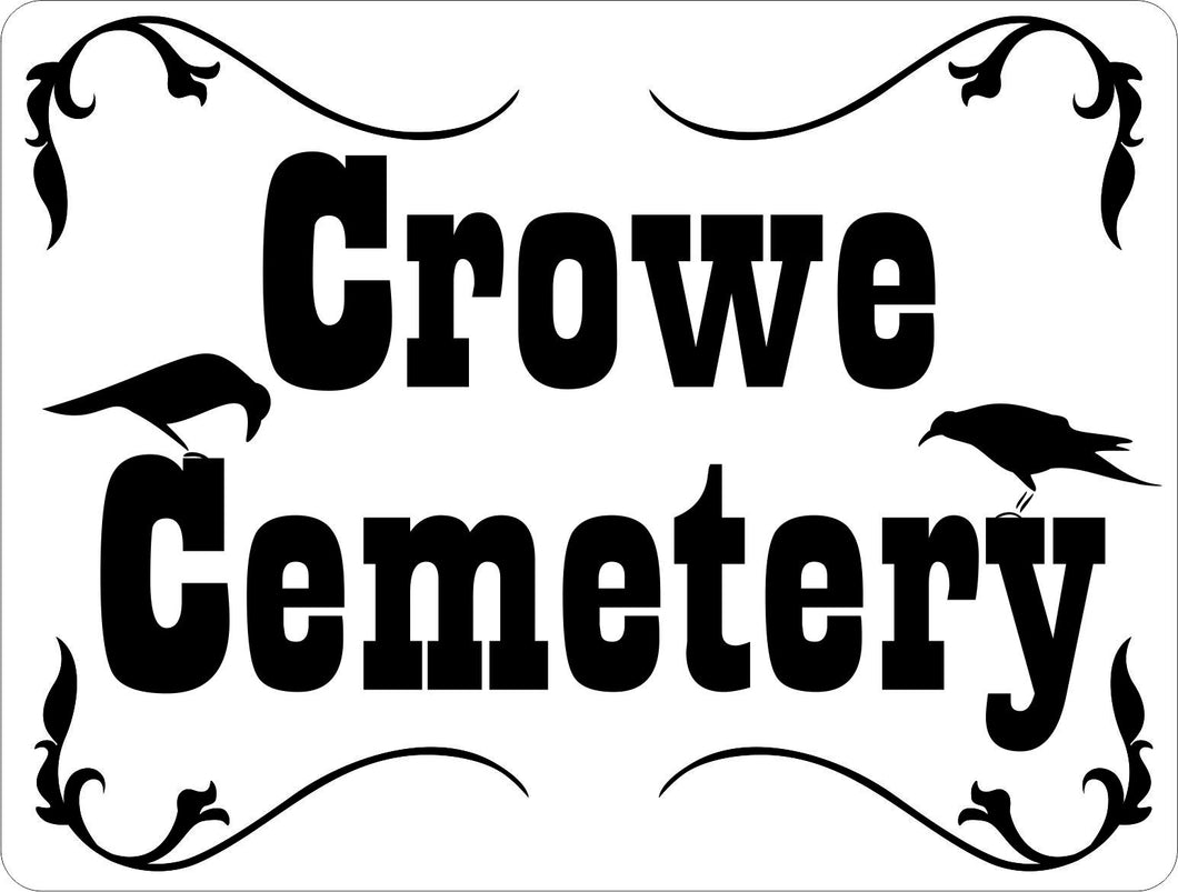 Custom Designed Cemetery Sign - Signs & Decals by SalaGraphics