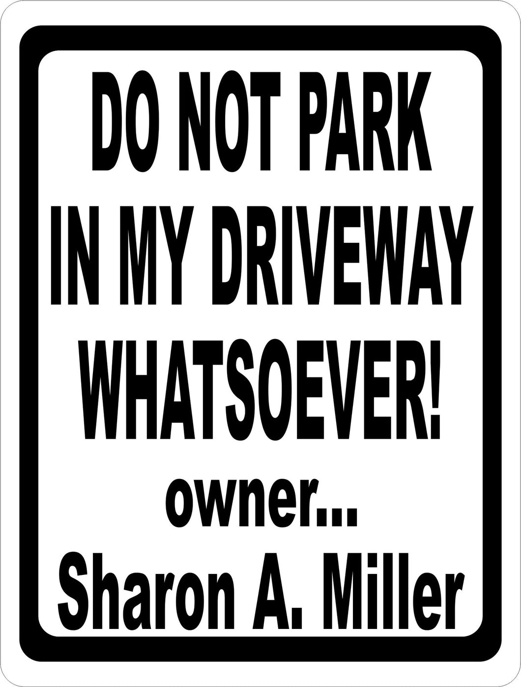 Custom Parking Sign for Business - Signs & Decals by SalaGraphics
