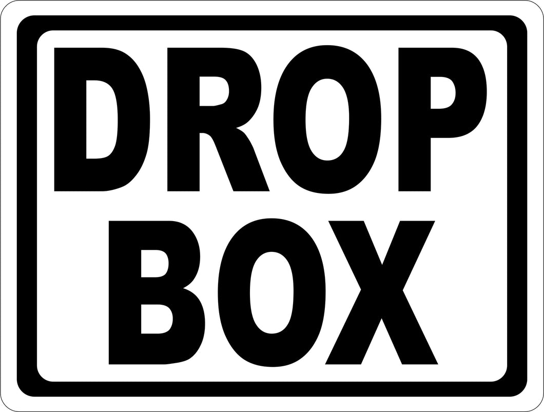 Drop Box Sign by Sala Graphics, Inc.
