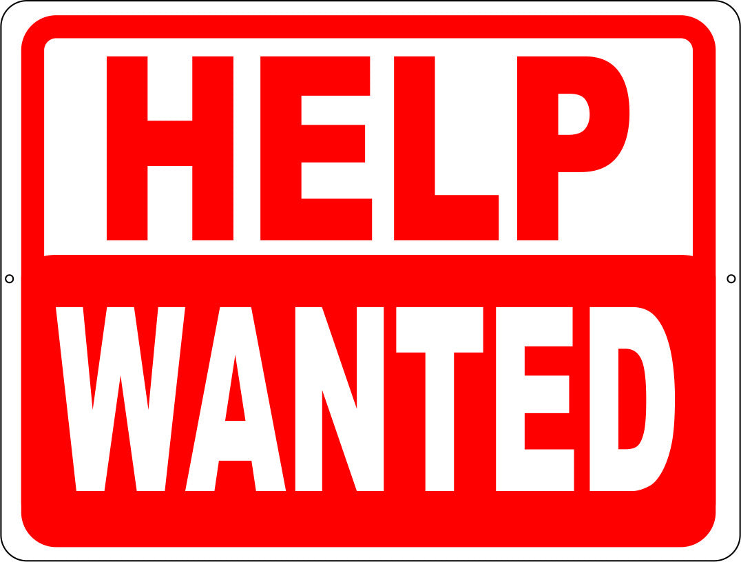 Help Wanted Sign Signs By Salagraphics