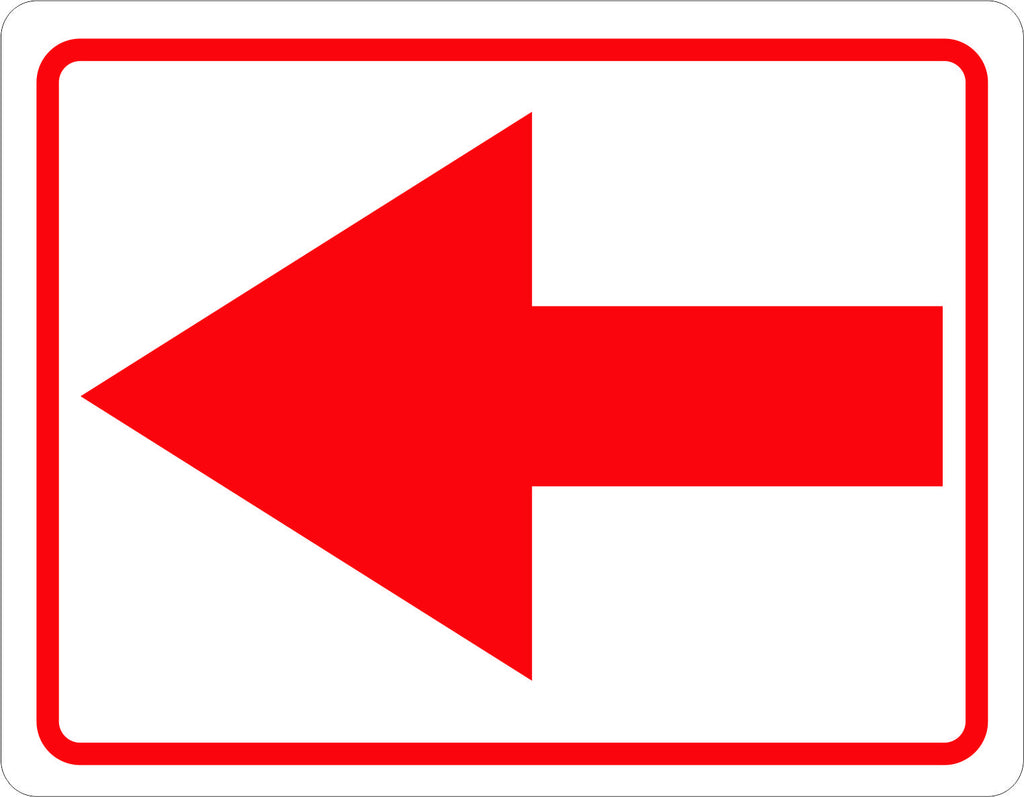 Directional Arrow Sign - Signs & Decals by SalaGraphics