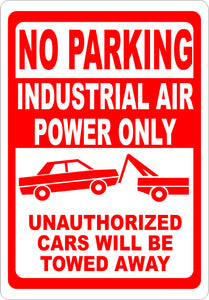 Custom Sign Industrial Air Power