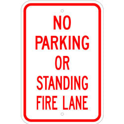 Fire Lane Sign No Parking