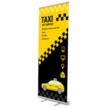 Custom Banner with Retractable Banner Stand Premium
