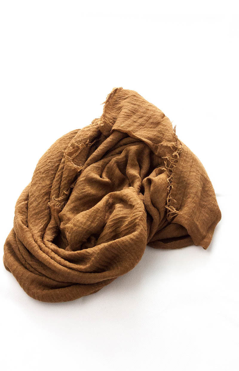Brown Super-soft Hijab