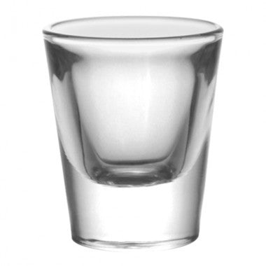 1 ounce Thick Base Clear Shot Glass (Box of 12)