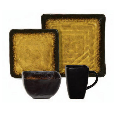 Suniva 16 pc Dinnerware Set, Square