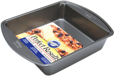 "perfect-results-square-cake-pan---8""-x-8""-x-2"""
