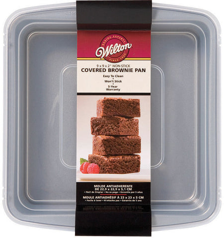 "recipe-right-covered-brownie-pan-9""x9""x2"""