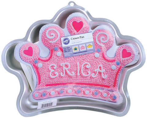 "novelty-cake-pans-crown-14.25""x10.5""x2"""