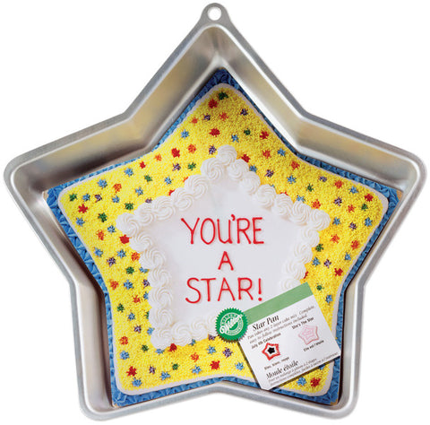 "cake-pan-novelty-star-12-3/4""x12-3/4""x1-7/8"""