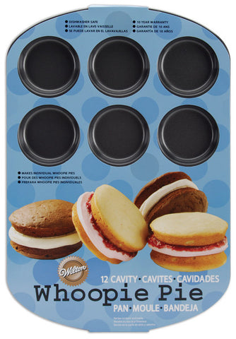 "12-cavity-round-whoopie-pie-pan---16.5""-x-11"""