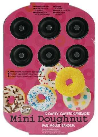 "12-cavity-mini-doughnut-pan---10""-x-7"""