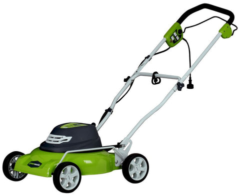 "Greenworks 18"" Electric-Powered Lawn Mower"