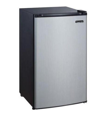 MCBR350S2 3.5 cf Refrigerator STAINLESS by MAGIC CHEF
